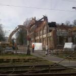 Abbruch Papierfabrik Wismar